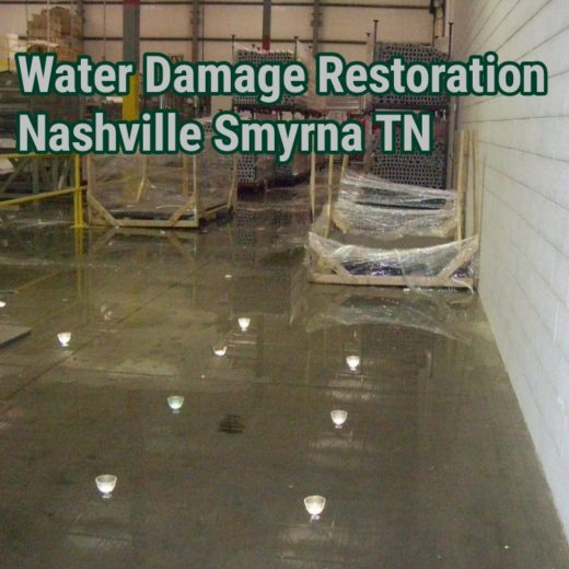 Water Damage Restoration Nashville Smyrna TN