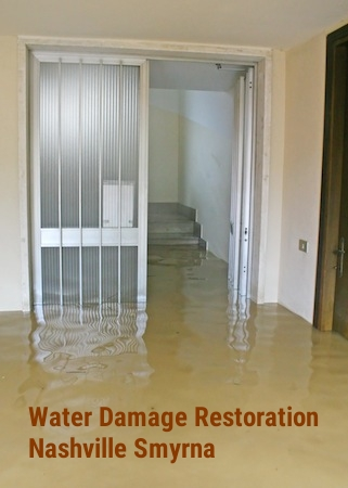 Water damage restoration Nashville Smyrna