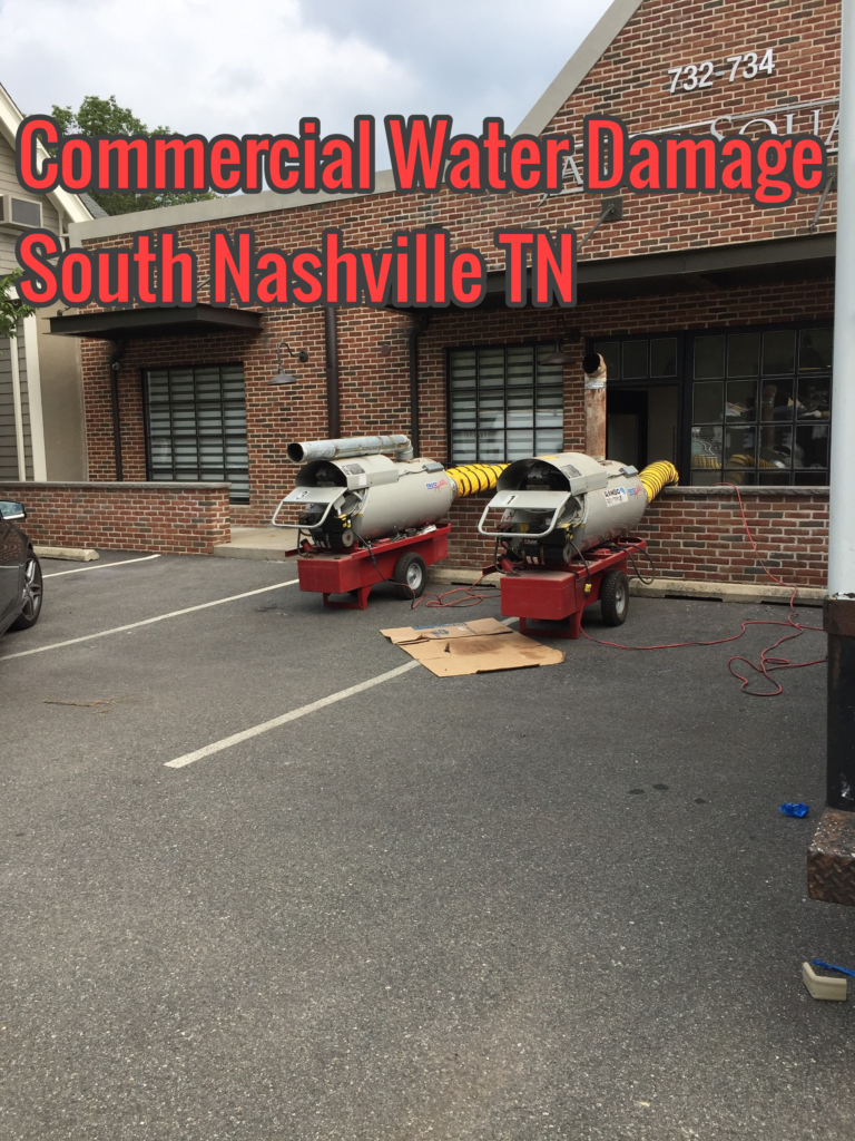 Commercial Water Damage South Nashville TN