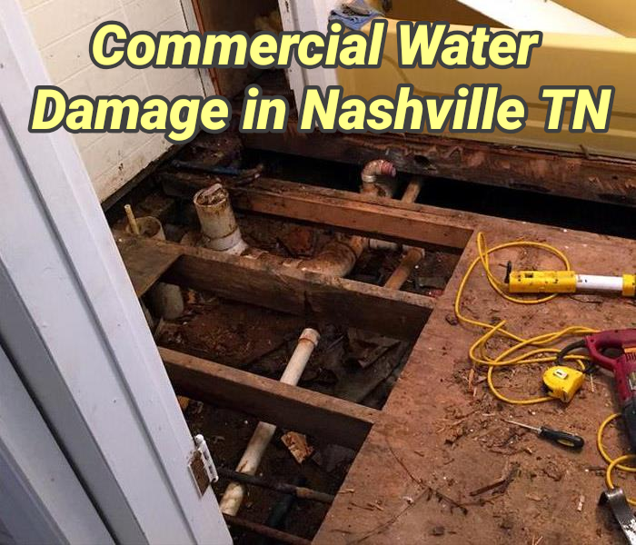 Commercial Water Damage in Nashville TN