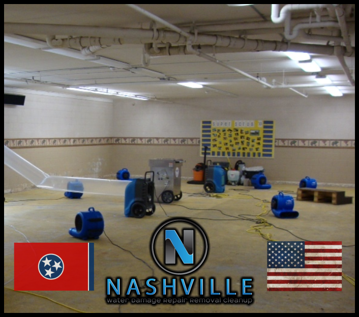 Nashville Water Damage Repair Removal Cleanup Commercial Restoration 43