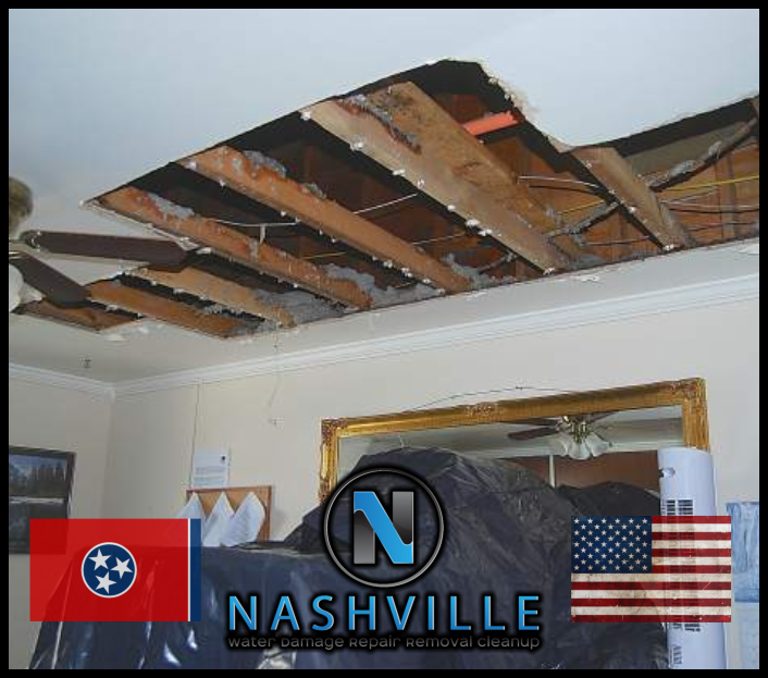 Nashville Water Damage Repair Removal Cleanup Commercial Restoration 54