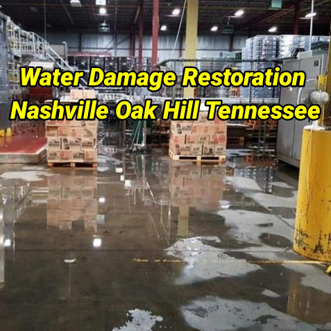 Water Damage Restoration Nashville Oak Hill Tennessee