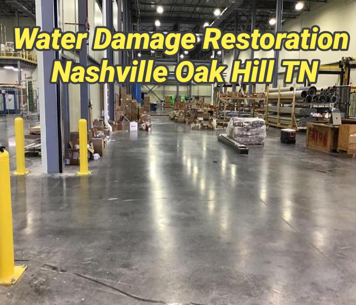 Water Damage Restoration Nashville Oak Hill TN