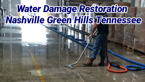 Water Damage Restoration Nashville Green Hills Tennessee