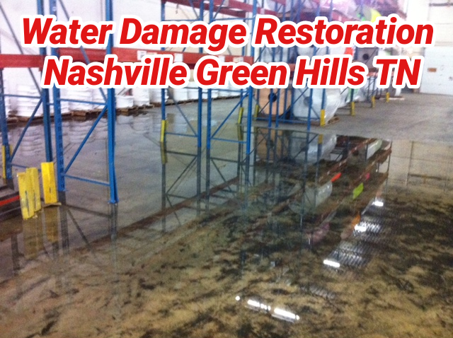 Water Damage Restoration Nashville Green Hills TN